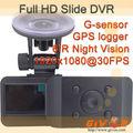 nouveau 2013 full hd gps g capteur vidéo registrator diapositives automatique