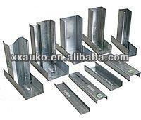 decorative light gauge steel frame for suspended ceiling or partition