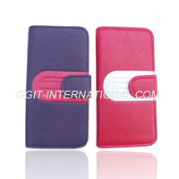 Wallet With Card Holder Leather Case for iPhone