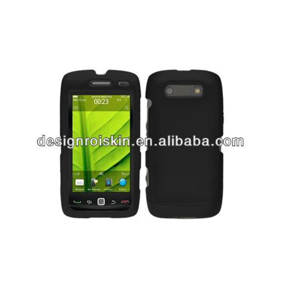 black case for Blackberry 9850 color case for Blackberry 9850 rubber printed case