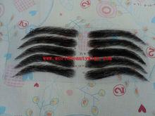 stocks available!! human hair lace base eyebrow,eyebrow extension
