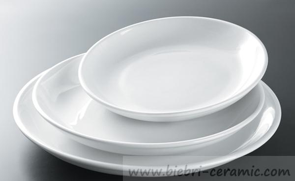 Super White Custom Design Porcelain Bread/Salad/Dessert/Dinner/Service Plates Dishes Hotel Restaurant All Size Wholesale