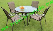 2013 promotion sling outdoor garden furniture dining set RLF-TDH-026