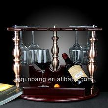 Wine glass storage rack