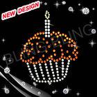 beautiful birthday cake Rhinestone Transfers, Iron On Design for Clothing Decoration