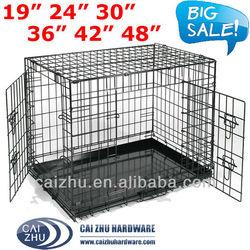 6 Sizes Metal Folding Dog Crate, Metal Folding Dog Cage, Metal Dog House