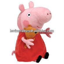 Peppa Pig Plush with little animal