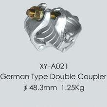 German Type Anti-Skidding Double Coupler