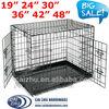 """19"""" 24"""" 30"""" 36"""" 42"""" 48"""" Folding Dog Crate, Folding Dog Cage, Dog House"""