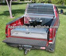 2013 Top Seller diamond plate aluminum tool box, leading Truck Accessories manufacturer OEM aluminum diamond plate boxes