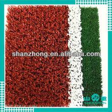 2013 new arrival badminton artificial grass court