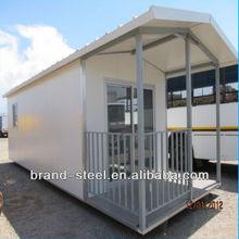modular steel structural frame sandwich panel prefab beach house