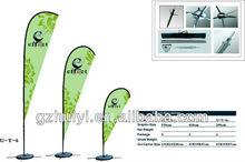 Cheap Custom Design Beach Flag Pole