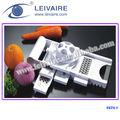 Vegetable peeler e grater ; espremedor de frutas ; processador de alimentos