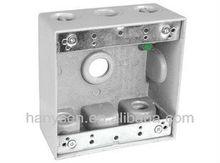 UL Electrical 2 gang Box