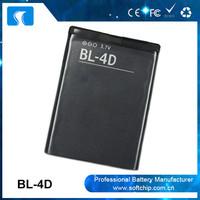 3.7v 1200mAh Long lasting time BL-4D battery for Nokia from battery Manufacturer