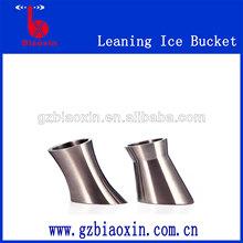 stainless steel ice bucket , led ice bucket ,ice cooler