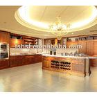 AK20 American cherry wood kitchen unit cabinets