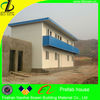 Two floors flat roof prefabricated mobile office,modular house for sale