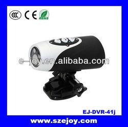Best night vision ski camera,Helmet/Bike/motorcycle DVR waterproof 720P&EJ-DVR41J