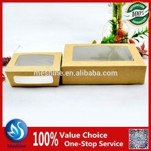 Paper food packaging sushi box