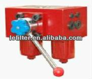 hydraulic/lubrication oil system SGF-H60 Duplex Pressure inline Filter