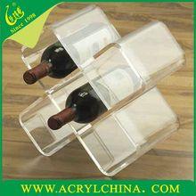 transparent acrylic bottle holder for distributor