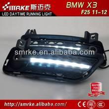 Car-Specific LED Daytime Running Light for BMW X3 F25 2011'-12 LED DRL,fog lamp,daytime driving light