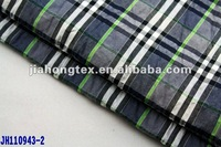 wholesale cotton yarn dyed checked seersucker fabric China