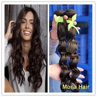 No mix animal hair 100% pure virgin brazilian hair