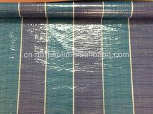 blue, white stripe tarpaulin