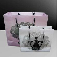 Designer carrier bags for make up