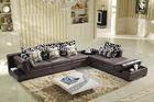 Modern design italy leather sofa extra large corner sofa F811#