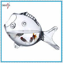 high quality fish design decorative glass fish bowl