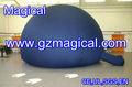 Esfera inflável cúpula de planetário exemplo / preto ar inflável dome