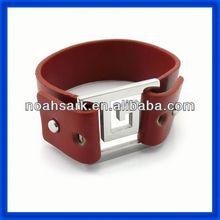 Fashion jewelry alibaba wholesale leather bracelet straps