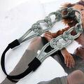 hecho a mano turbante del pelo accesorios