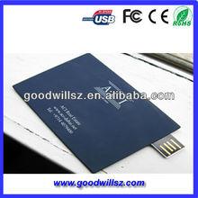 20151GB business card usb flash drive with custom design logo printing