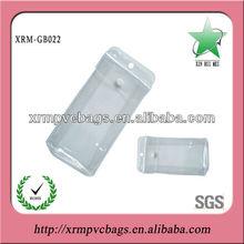 Custom clear vinyl pouch