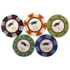 plastic piece poker chips