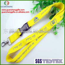 cheap custom nylon keychain holder lanyard braided nylon cord