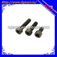 hex socket titanium cap screw