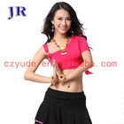 Belly dance dress girl sexy dance tops S-3030#