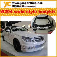 fiberglass Car W204 body kits for BENZ W204 bodykits W style car parts