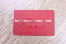 Fashion design customer PVC cards