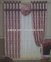 Latest Jacquard Ready Made Curtains Decorating Curtain With Blackout Characteristic