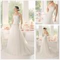 без бретелек декольте возлюбленной верхняя круёева низких свадебные платья обратно в турции