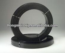 Tianjin Manufacturer high tensile black painted steel packing Strip ,Metal packing strip