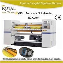 เกลียวอัตโนมัติ- มีดตัดncสำหรับคณะกรรมการกระดาษลูกฟูกrync- 1