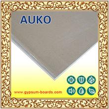 10mm adhesive gypsum plasterboard for restaurant/decorative plasterboard(Auko-fs)
